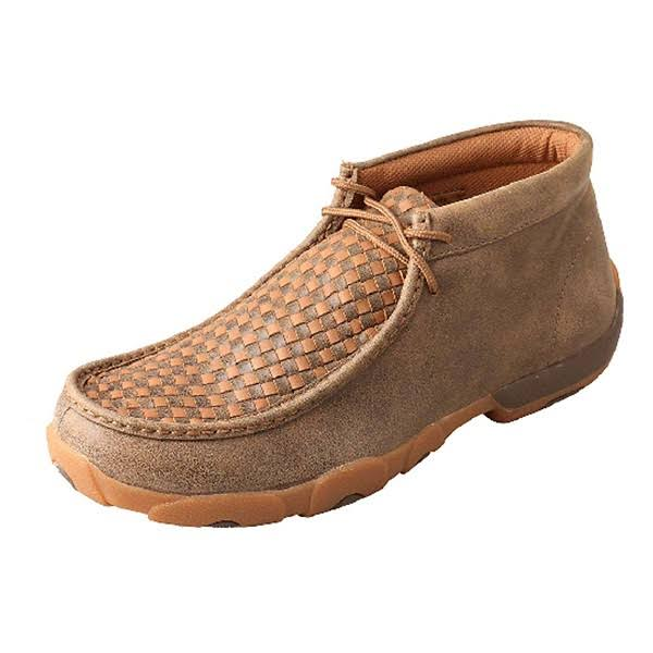 Twisted x Men's Driving Moccasins – Bomber/Tan