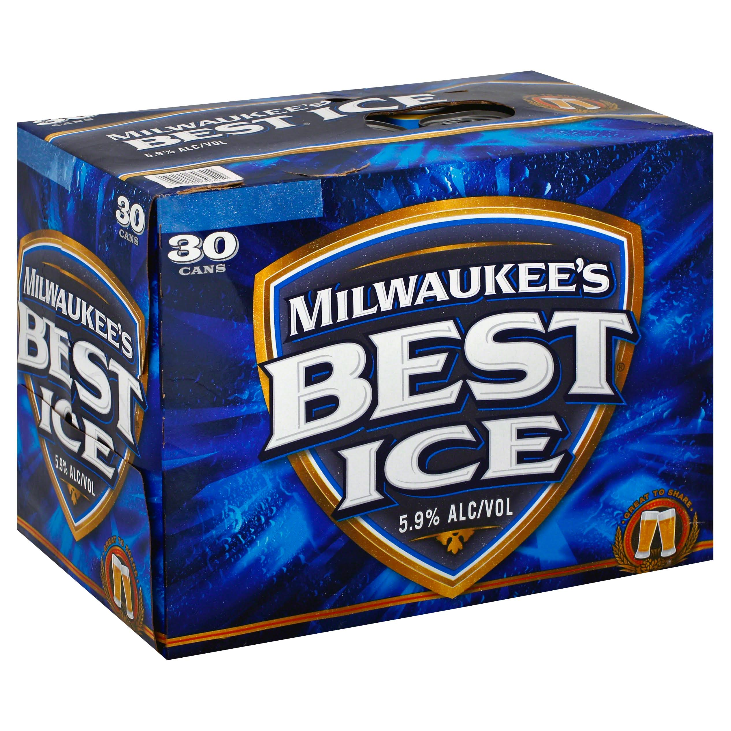 Milwaukee's Best Ice Beer - 30 Cans