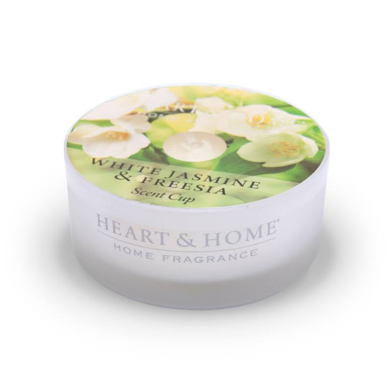Heart & Home Scent Cup - White Jasmine & Freesia