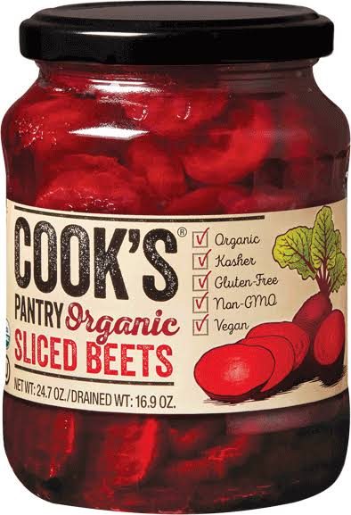 Cook's Organic Sliced Beets