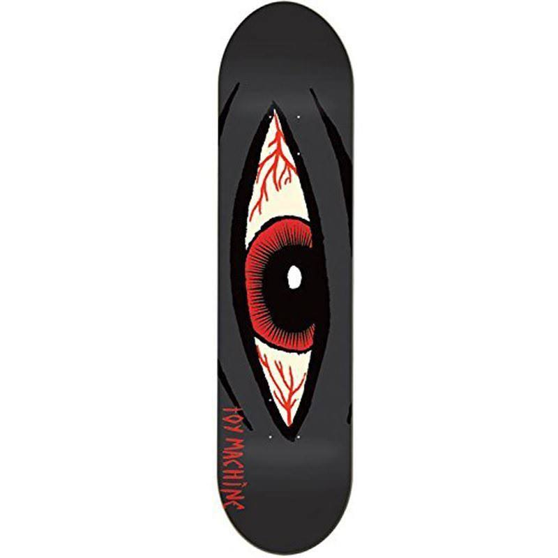 Toy Machine Skateboards Skateboard Deck - Sect Eye Bloodshot, 8.125""