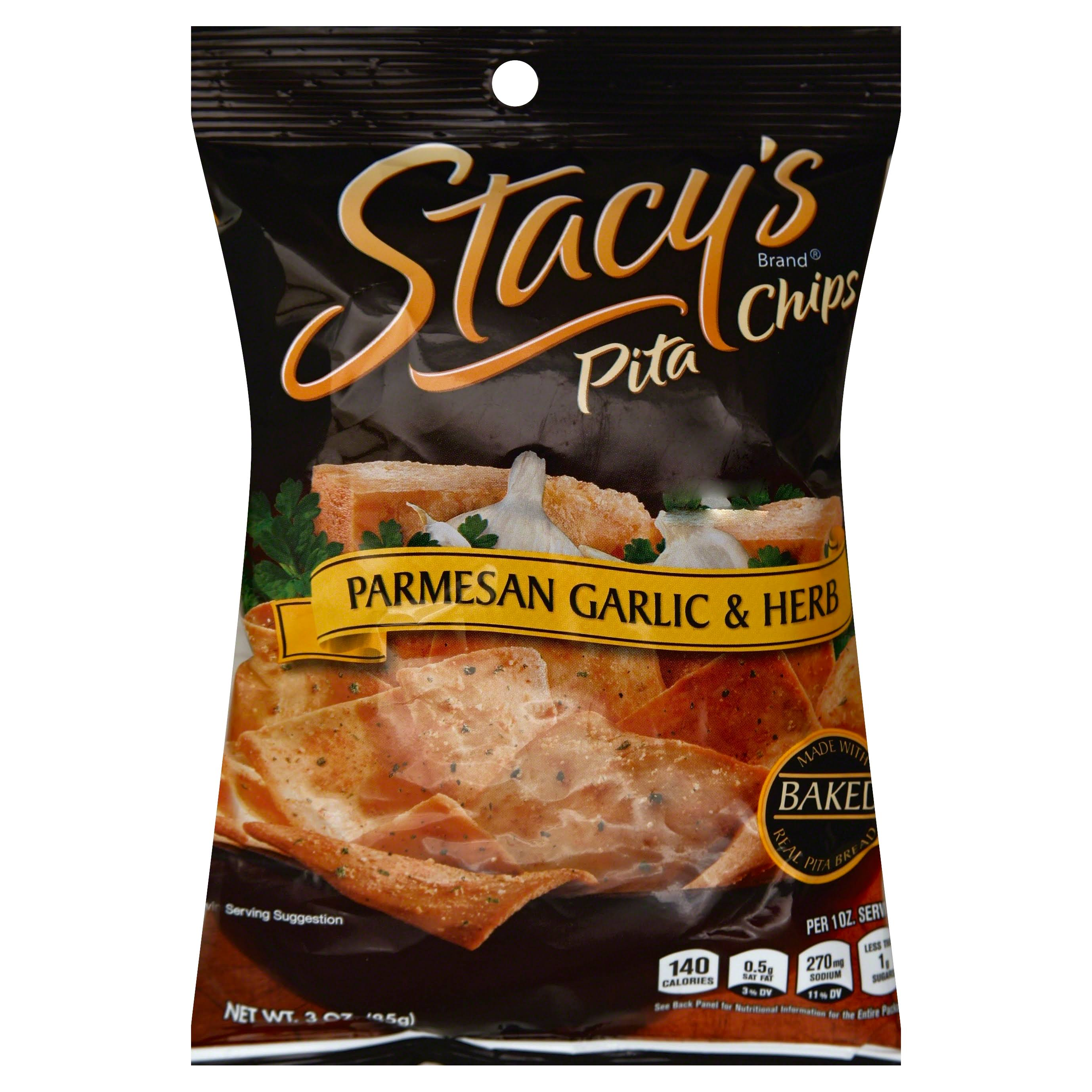 Stacey's Pita Chips - Parmesan Garlic & Herb