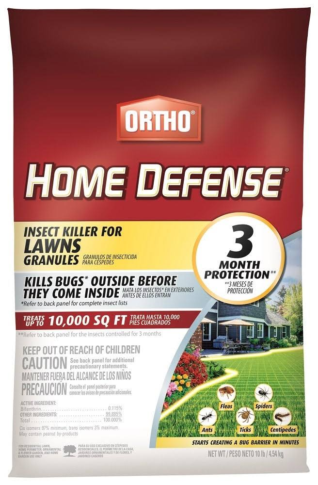 Ortho Home Defense Insect Killer for Lawns Granules - 10lb