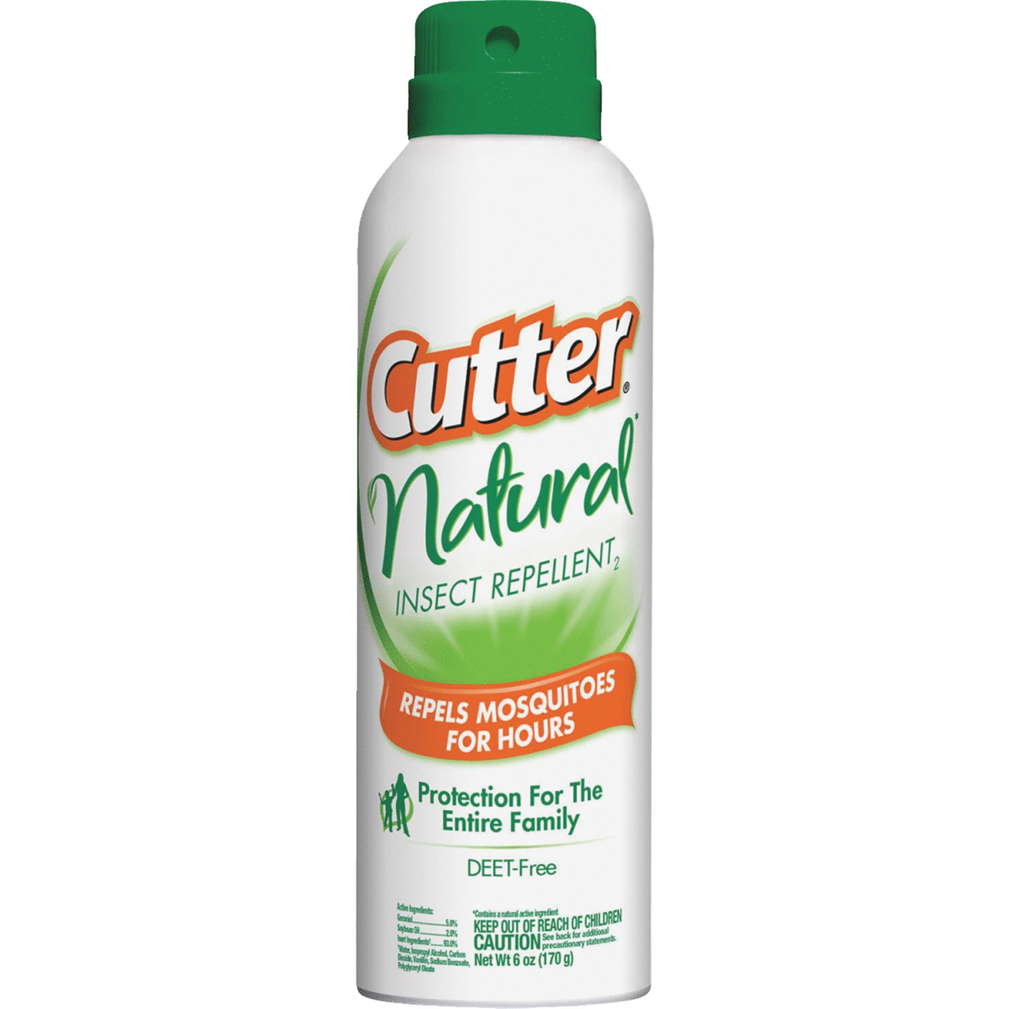 Cutter Insect Repellent - Natural, 6oz
