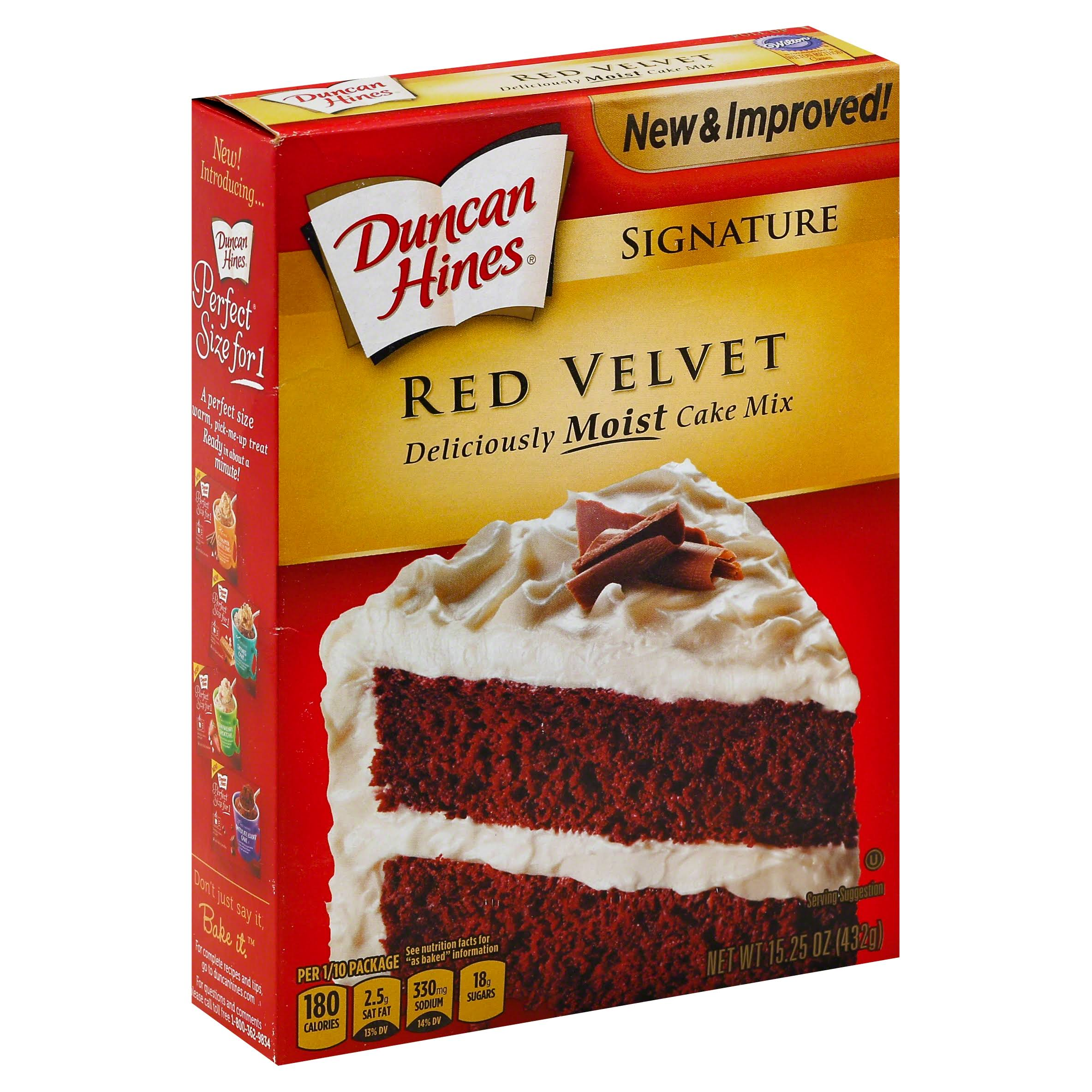 Duncan Hines Red Velvet Cake Mix - 468g