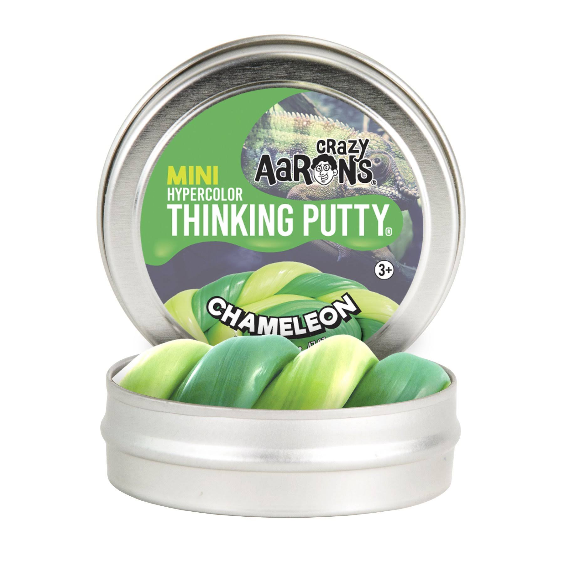 "Chameleon 2"" Tin Crazy Aaron's Thinking Putty"