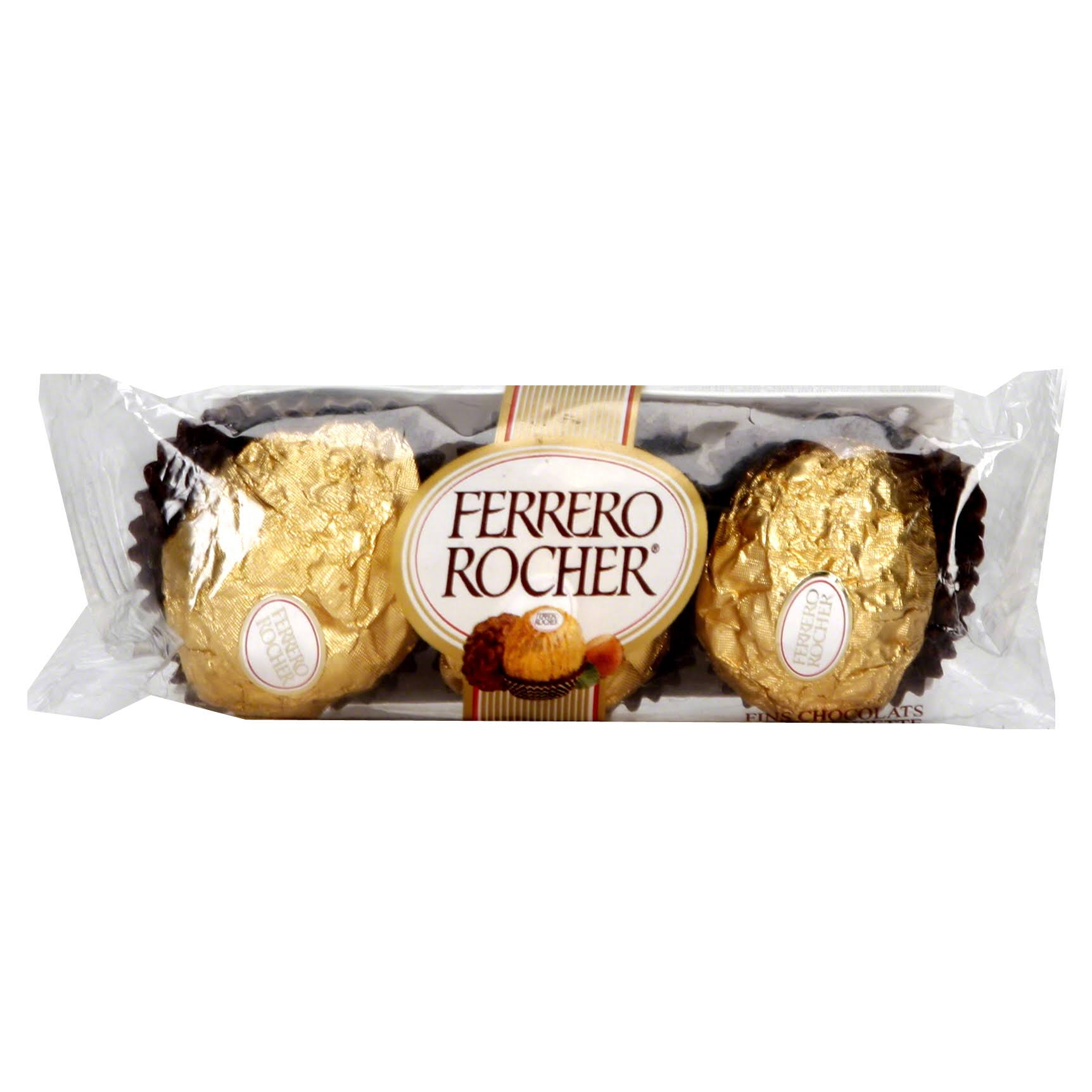 Ferrero Rocher Fine Chocolate, Hazelnut - 1.3 oz