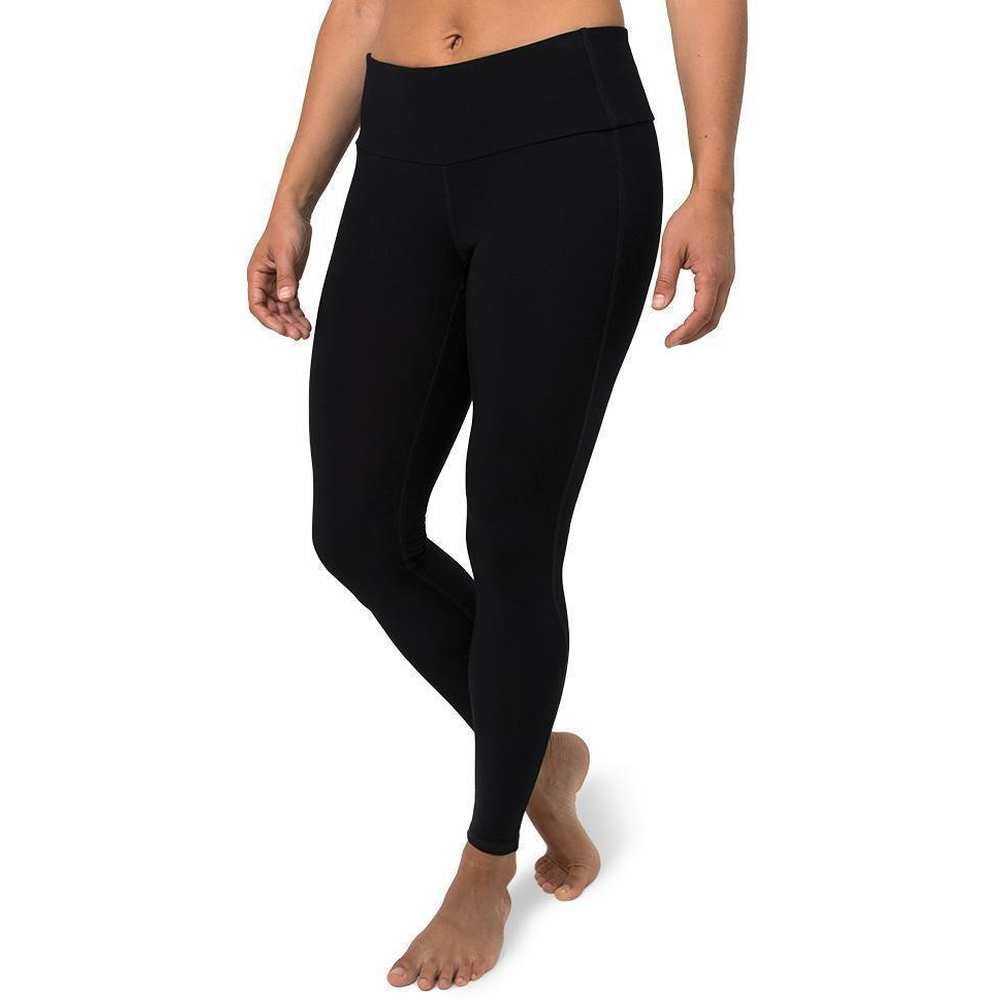 Free Fly Women's Bamboo Full-Length Tight Black / Large