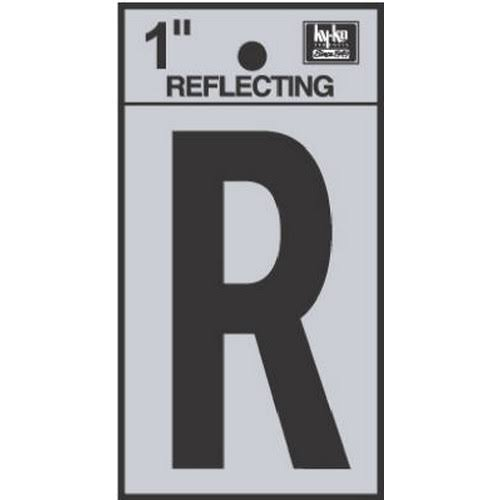 Hy-Ko Reflect Letter R, 1""