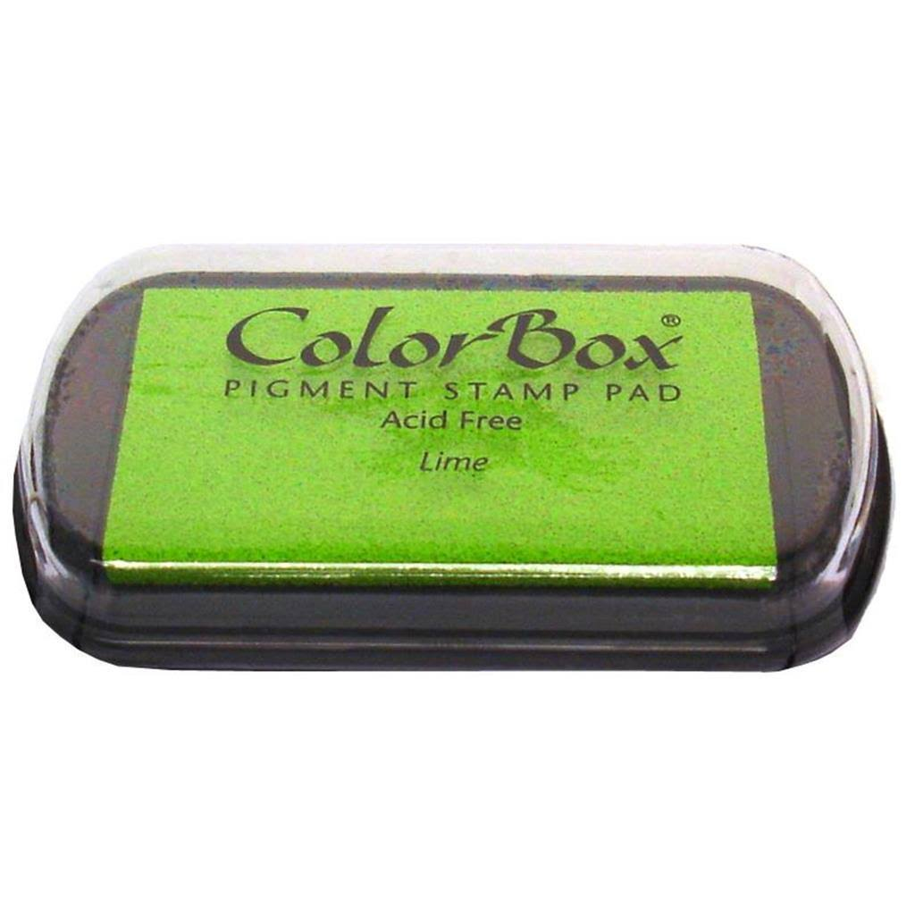 Colorbox Pigment Stamp Pad - Lime