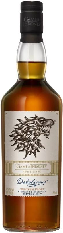 Dalwhinnie Winter's Frost House Stark Game of Thrones Single Malt Scotch 750ml