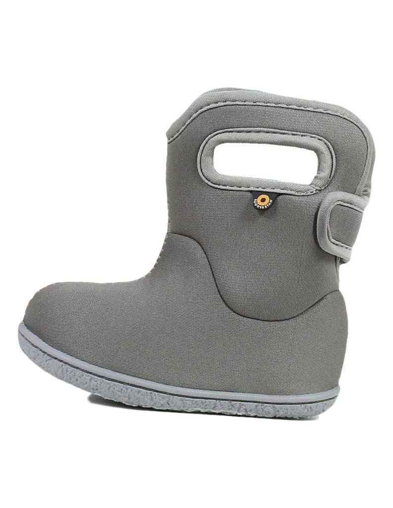 Bogs Outdoor Boots Boys Baby Solid WP 72461I Light Gray