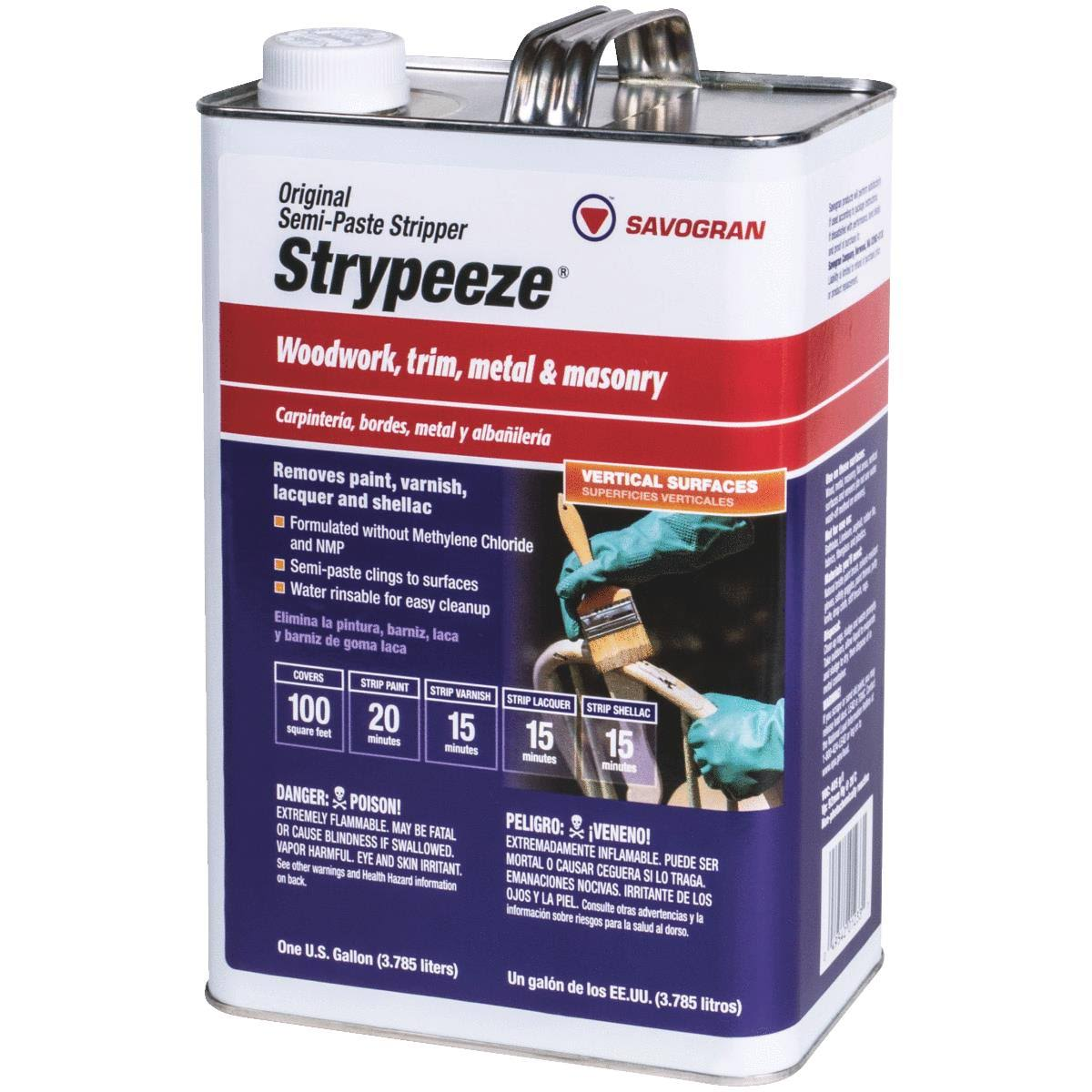 Savogran Strypeeze Semi Paste All Purpose Stripper - 1gal