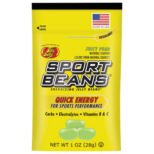 Jelly Belly Sport Energizing Beans - Green Apple, 1oz