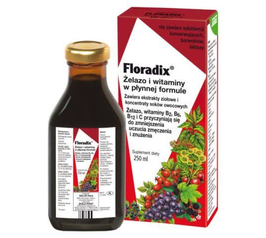 Floradix Liquid Iron and Vitamin Formula - 250ml