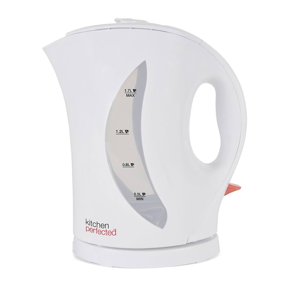 Lloytron Kitchen Perfected Cordless Kettle - White, 1.7l