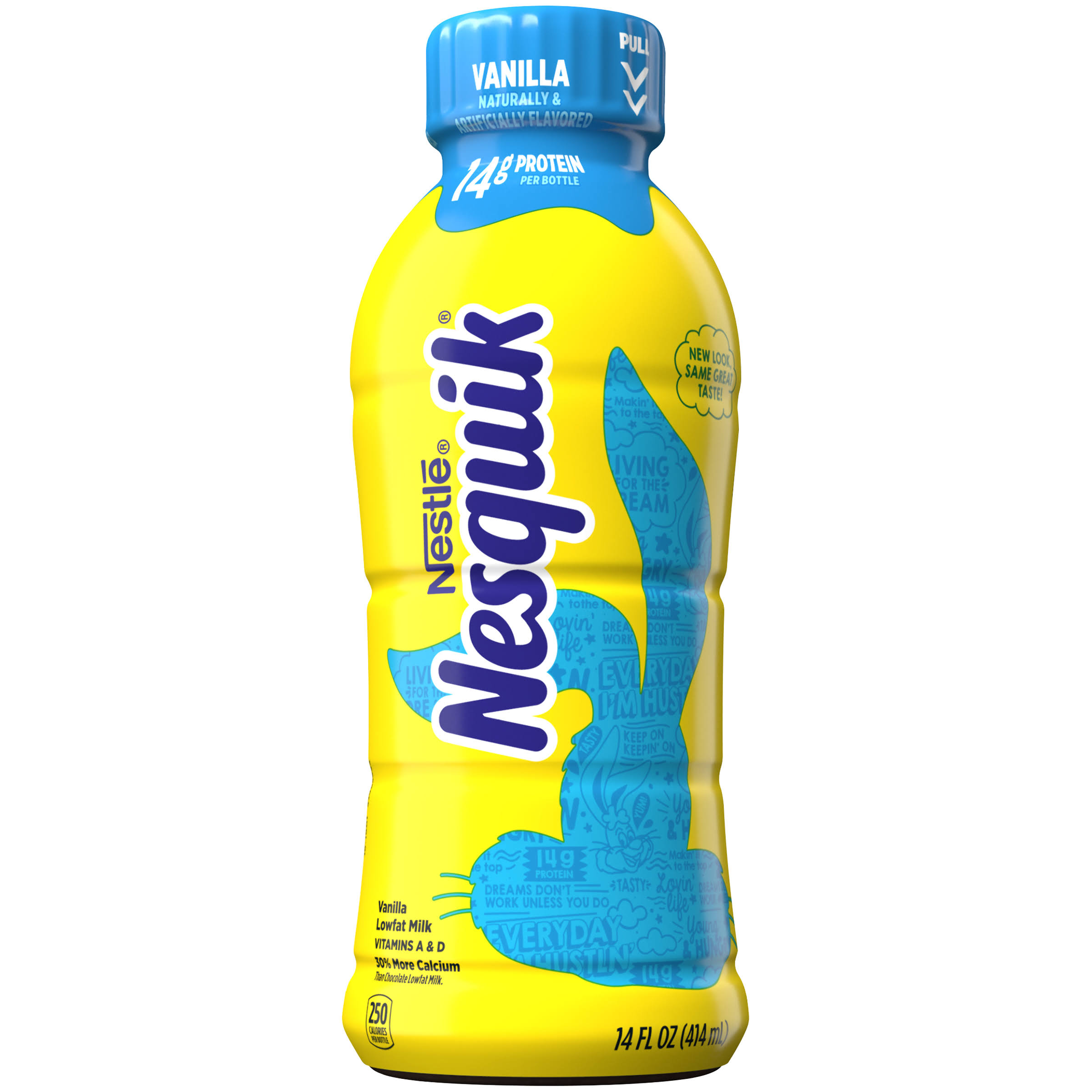 Nestle Nesquik Drink - Milk Vanilla, 414ml