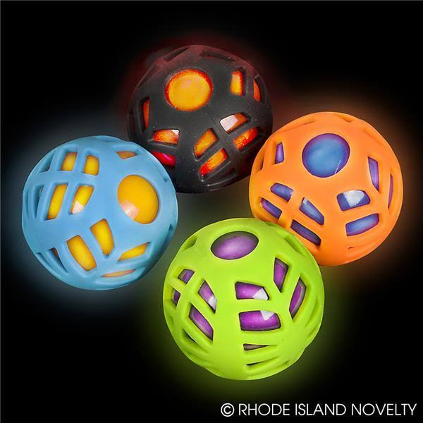 "Adventure Planet 2.5"" Light Up Sports Ball"