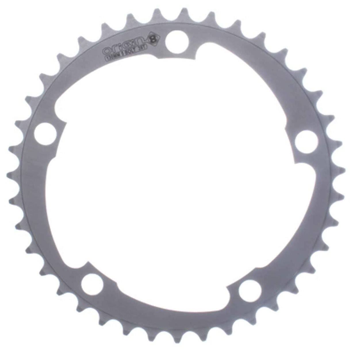 Origin8 Alloy Blade Bicycle Chainring - Silver, 110mm, 36 Teeth