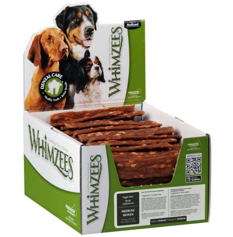Whimzees Veggie Strip Dog Dental Chew