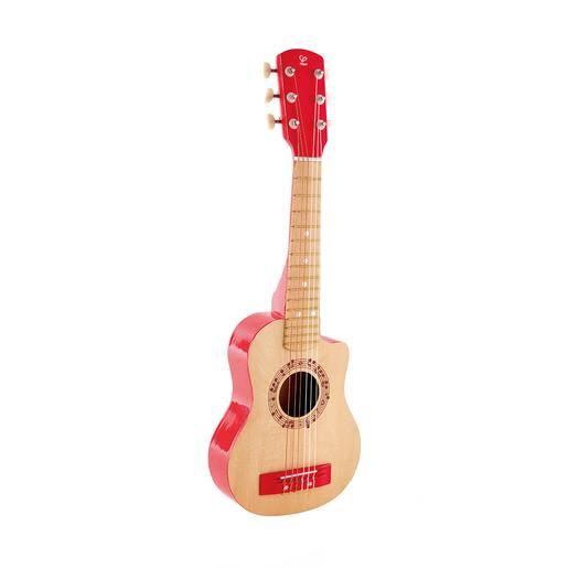 Hape Kid's Flame First Musical Guitar - Red