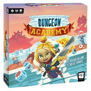 USAopoly Dungeon Academy Board Game