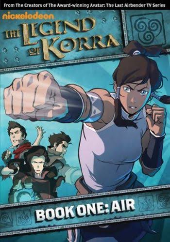 The Legend of Korra, Book One: Air DVD