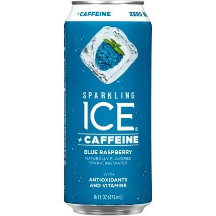 Sparkling Ice Sparkling Water, Blue Raspberry - 16 fl oz
