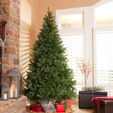 Lifelike Artificial Christmas Trees Canada by Belham Living 7 5 Ft Natural Evergreen Clear Pre Lit Full