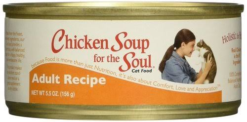 Chicken Soup for the Soul Adult Canned Cat Food - 5.5oz