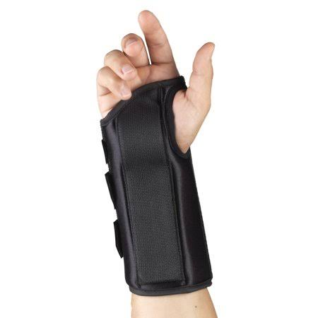 "Otc 8"" Wrist Splint, Right Hand, Black, Small"