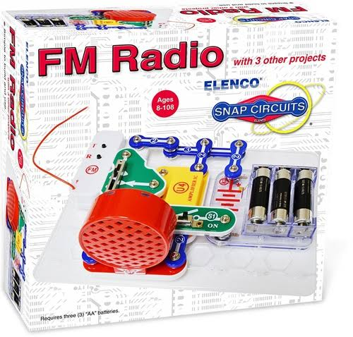 Snap Circuits FM Radio Mini Kit