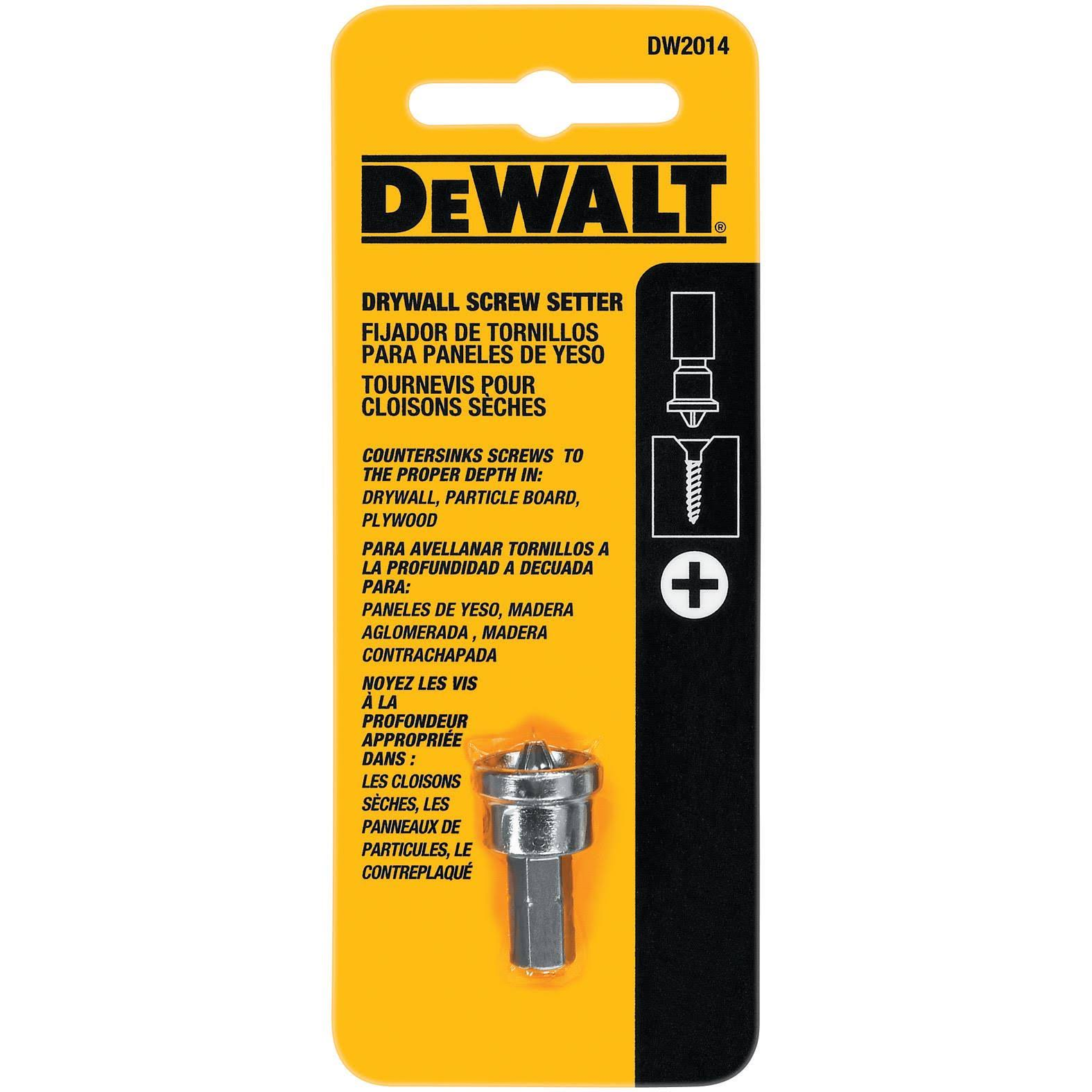Dewalt DW2014 Drywall Screw Setter Bit Tip