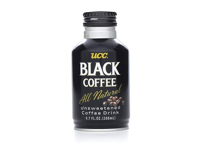 UCC Unsweetened Black Coffee Drink - 9.7oz