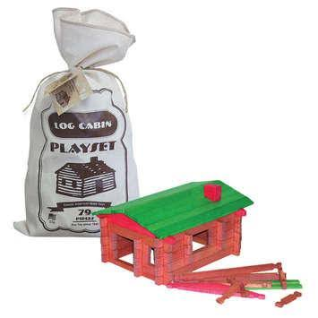 Channel Craft Roy Toy Log Cabin Canvas USA Default