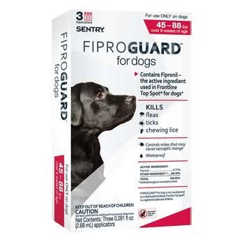 Sentry FiproGuard For Dogs Topical Flea & Tick Treatment