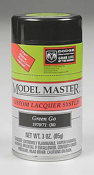 Testors Model Master Spray Green-Go 3 oz 28118