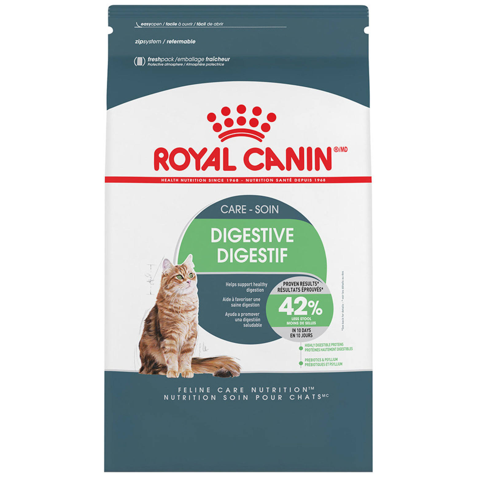 Royal Canin Digestive Care Cat Food - Chicken, 3lbs