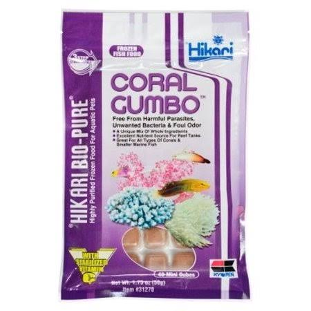 Hikari Bio-Pure Frozen Coral Gumbo Fish Food - 1.75 oz