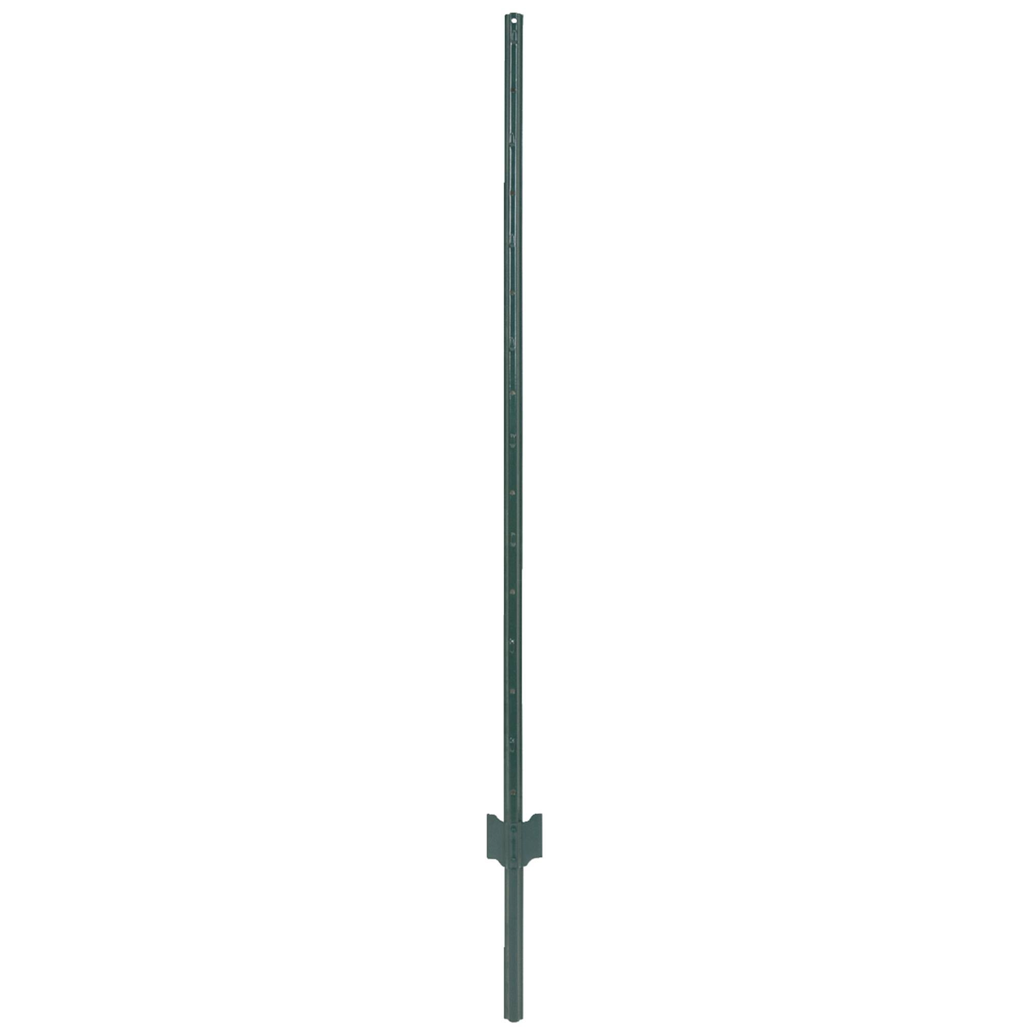 Light Duty Green Steel U-post - 5'