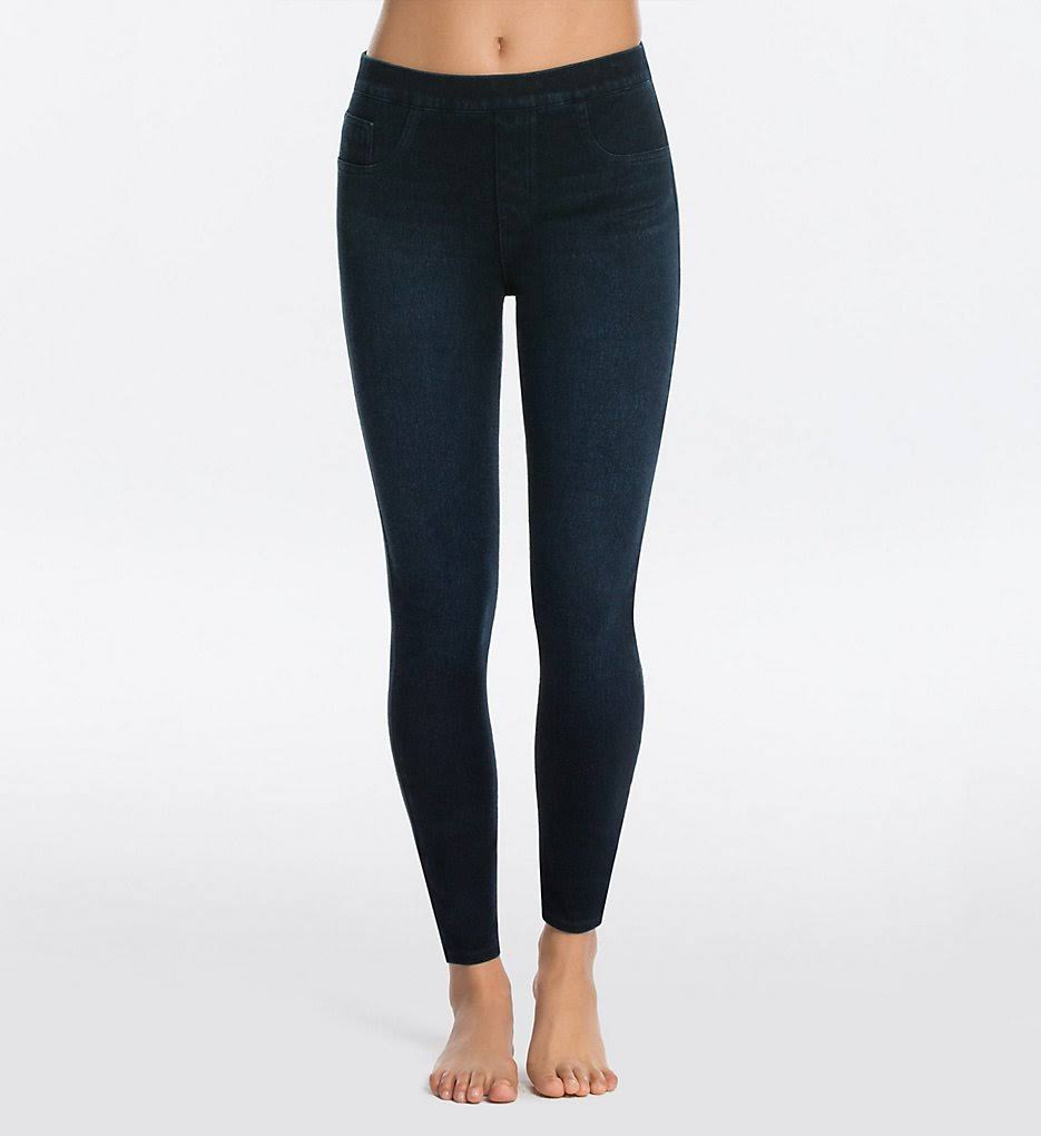 Spanx Ankle Jean-ish Leggings Twilight Rinse