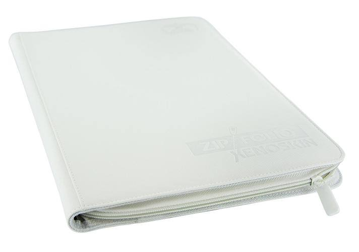 Ultimate Guard 9 Pocket XenoSkin Zipfolio - White