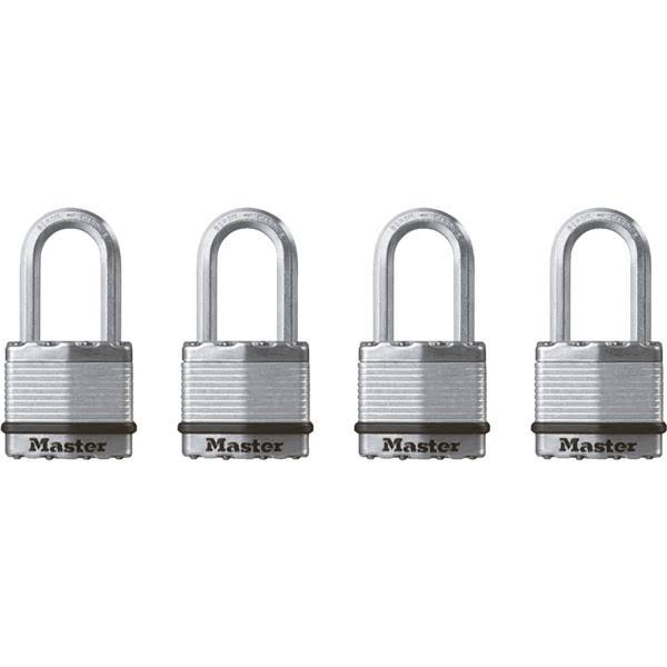 Magnum Long Shackle Laminated Padlock