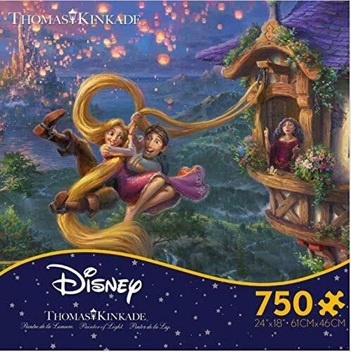 Ceaco Disney Thomas Kinkade: Tangled Puzzle 750pc
