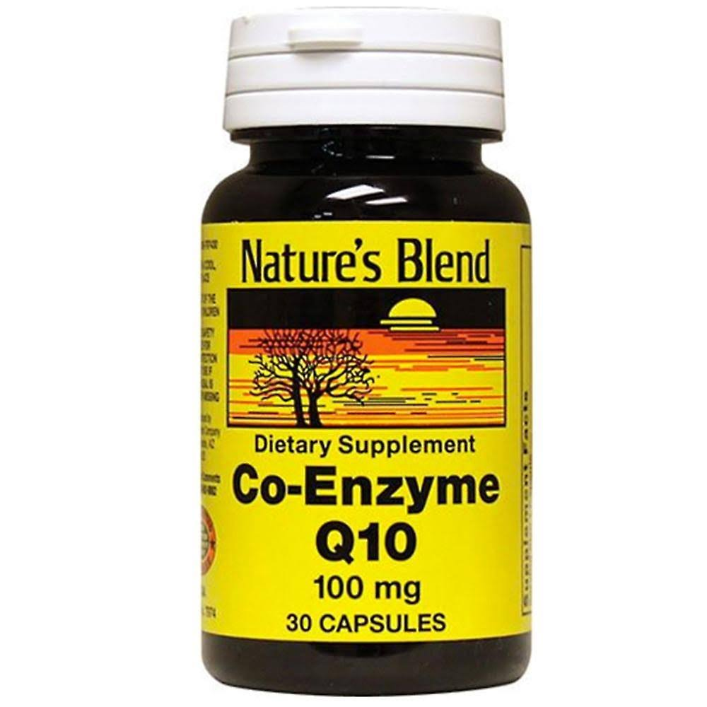 Nature's Blend Co-Enzyme Q10 100 mg