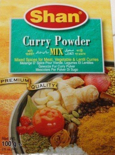 Shan Recipe & Seasoning Mix, Curry Powder - 100 g