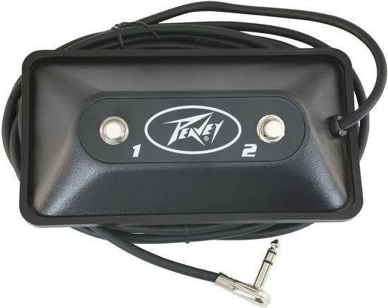 Peavey Multi Purpose 2 Button Guitar Footswitch