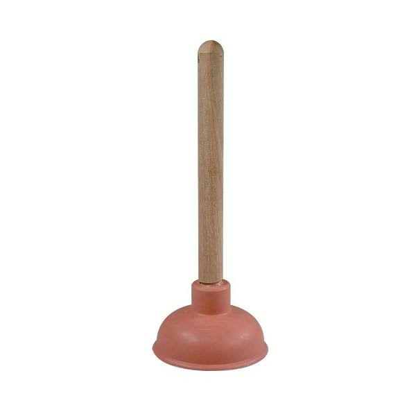 Cobra Products 304 Force Cup Plunger with Wood Handle - 4""
