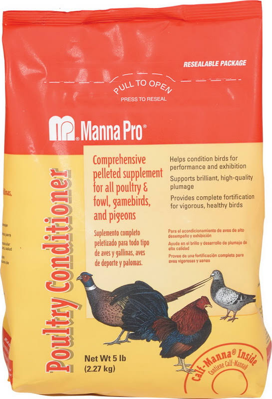 Manna Pro Poultry Conditioner Supplement - 5lbs