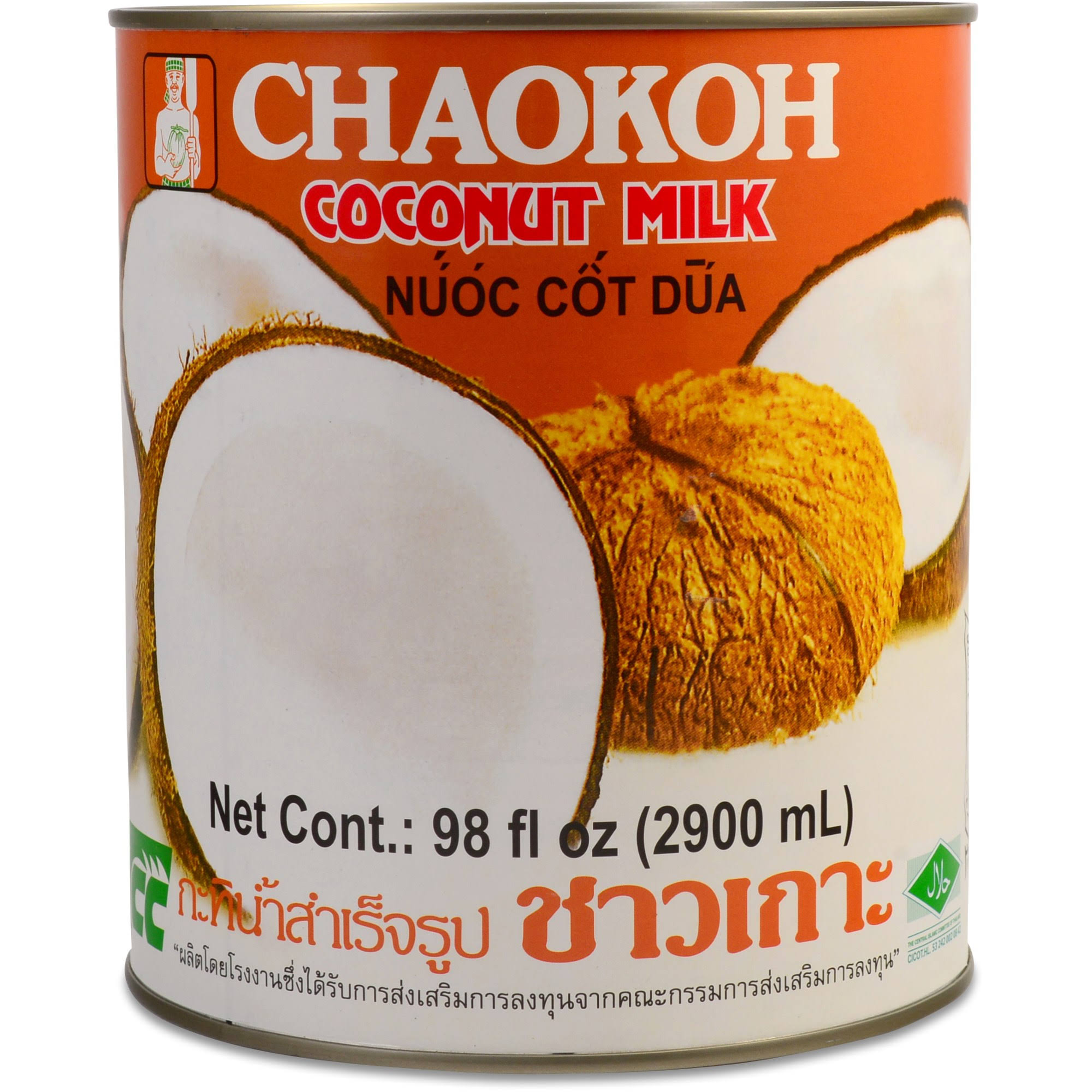 Chaokoh Coconut Milk - 98oz
